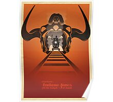 Steven Spielberg's INDIANA JONES AND THE TEMPLE OF DOOM Poster
