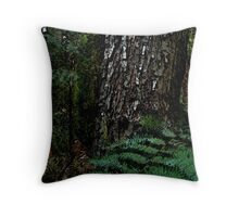 treefern warburton Throw Pillow