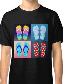 Flip Flop Pop Art  Classic T-Shirt