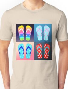 Flip Flop Pop Art  Unisex T-Shirt