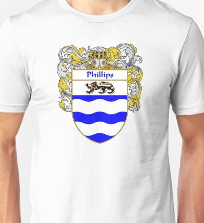 Phillips Coat of Arms / Phillips Family Crest Unisex T-Shirt