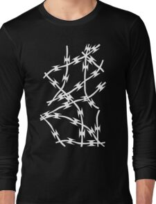 Barb Black Long Sleeve T-Shirt