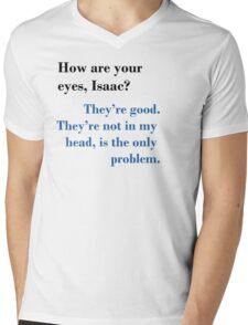 Isaac's Eyes - TFIOS Mens V-Neck T-Shirt