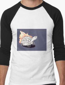Tortoise on a Mission Men's Baseball ¾ T-Shirt