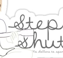 Stephen Shutters Guitar Logo Sticker
