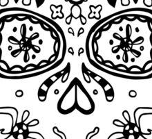 Skull BW Sticker
