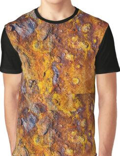 Rusted metal surface Graphic T-Shirt