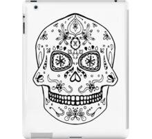 Skull BW iPad Case/Skin