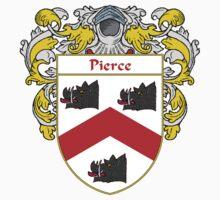 Pierce Coat of Arms / Pierce Family Crest One Piece - Short Sleeve
