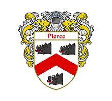 Pierce Coat of Arms / Pierce Family Crest Photographic Print
