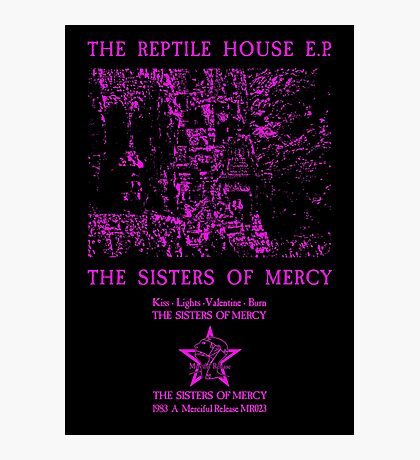 The Sisters Of Mercy - The Worlds End - The Reptile House EP Photographic Print