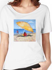 Yellow Umbrella Women's Relaxed Fit T-Shirt