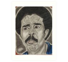 an American stand-up comedian, social critic, and actor Art Print
