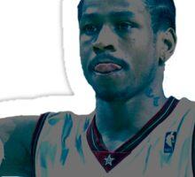 Allen Iverson contrast design  Sticker