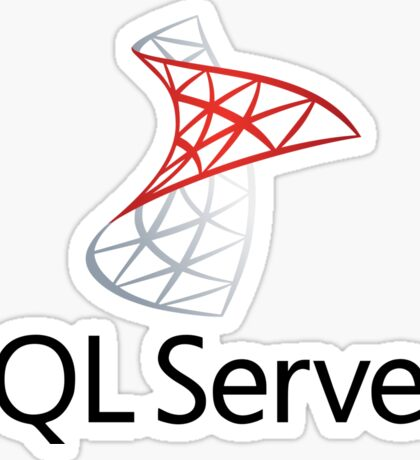 sql server database programming language Sticker