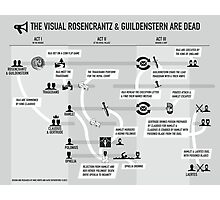 "The Visual Guide to ""Rosencrantz and Guildenstern Are Dead"" Photographic Print"