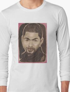 American singer, songwriter, dancer, and actor.  Long Sleeve T-Shirt
