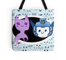 Leopa Channel Picture with Background Tote Bag