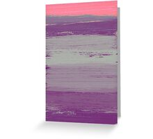 Abstract Purple Greeting Card