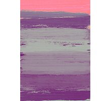Abstract Purple Photographic Print