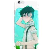 aren't we messy today iPhone Case/Skin