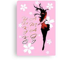 Yukiko Amagi Cherry Blossoms Canvas Print