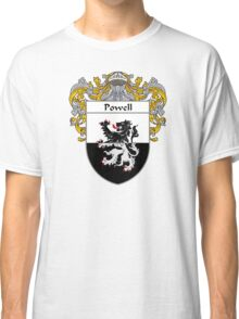 Powell Coat of Arms / Powell Family Crest Classic T-Shirt