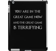 Game of thrones Tyrion Lannister the great game iPad Case/Skin
