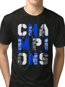 Hot Shots 3-PEAT CHAMPIONS Tees Tri-blend T-Shirt