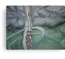 Circling Winds Canvas Print