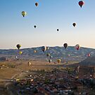 Cappadocia Balloons by diggle