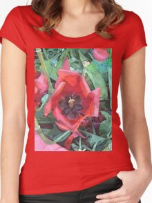 Tulips DPGPA151013-14 Women's Fitted Scoop T-Shirt