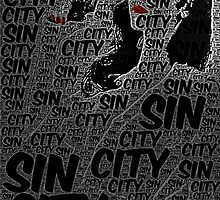 Sin City: A Dame to Kill For Poster With Text by Colin Bradley