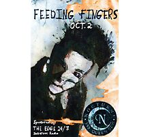 Feeding Fingers 2014 Tour Poster - Toronto, Canada - by Justin Curfman Photographic Print