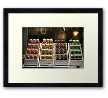 pastry shop Framed Print