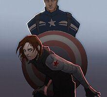 Cap and Buck by bjoart