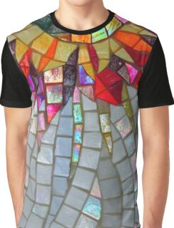 Star Flower,  photography of shiny mosaic - JUSTART © Graphic T-Shirt