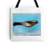 Superhero Flying Bird Tote Bag