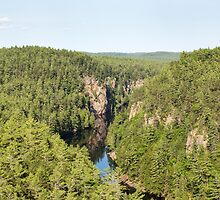 Baron Canyon - Algonquin Park by Josef Pittner