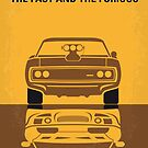 No207 My The Fast and the Furious minimal movie poster by Chungkong