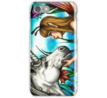 Fairy and Unicorn in Color iPhone Case/Skin