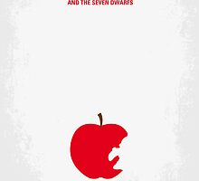No252 My SNOW WHITE minimal movie poster by Chungkong