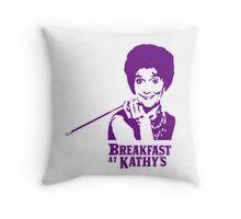 Breakfast At Kathy's Throw Pillow