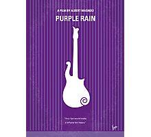No124 My PURPLE RAIN minimal movie poster Photographic Print