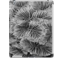 Sea Sponge Black and White Close Up iPad Case/Skin