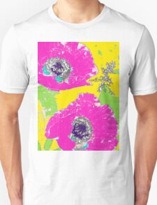 Punch of Pink Poppies II Unisex T-Shirt