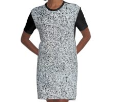 Granite background Graphic T-Shirt Dress