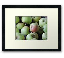 Magic Wishing Apple Framed Print