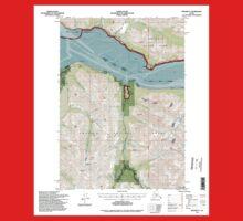 USGS TOPO Map Alaska AK Seward D-7 359009 1994 63360 One Piece - Short Sleeve