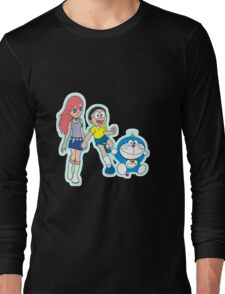 Doraemon Long Sleeve T-Shirt
